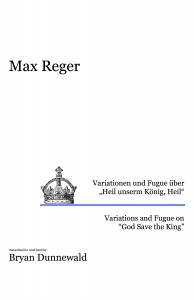 Variations and Fugue on God Save the King Score Cover JPG