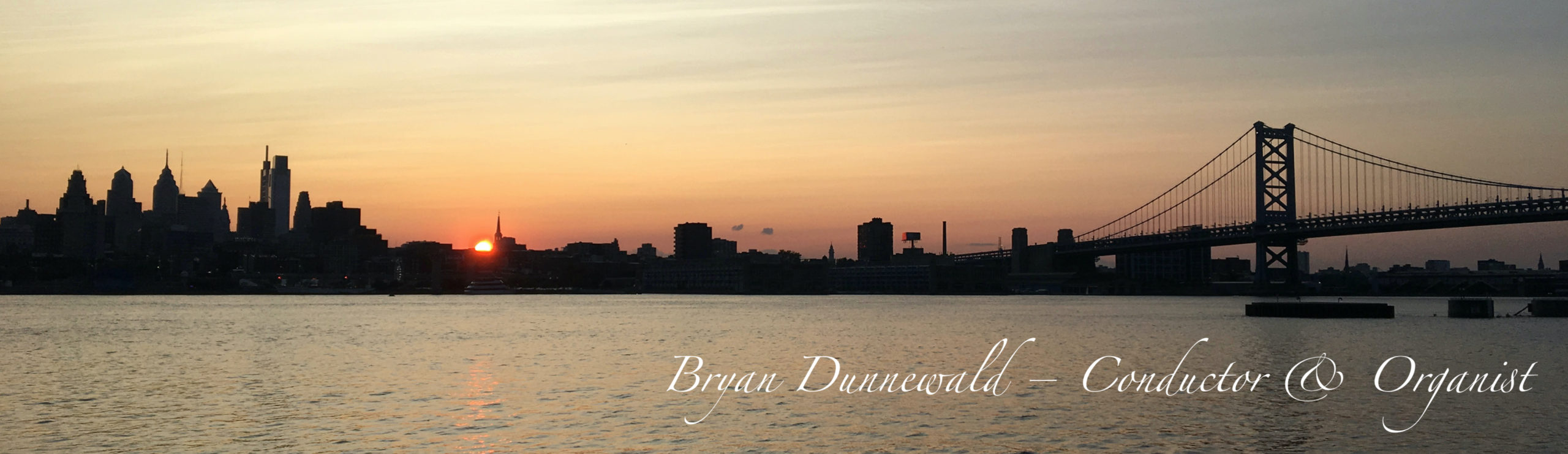 Bryan Dunnewald – Conductor and Organist header image